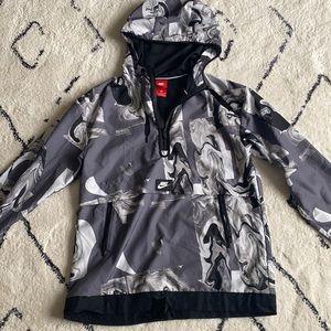 Nike rain jacket pull over